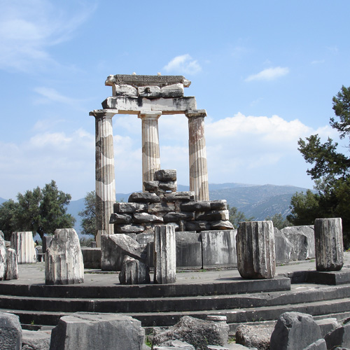 Delphi Centre of the Earth